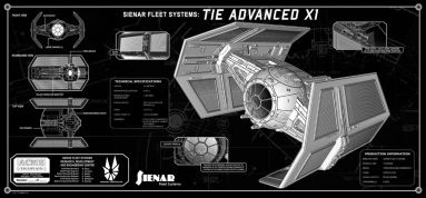 Tie Fighter Techplate Acme