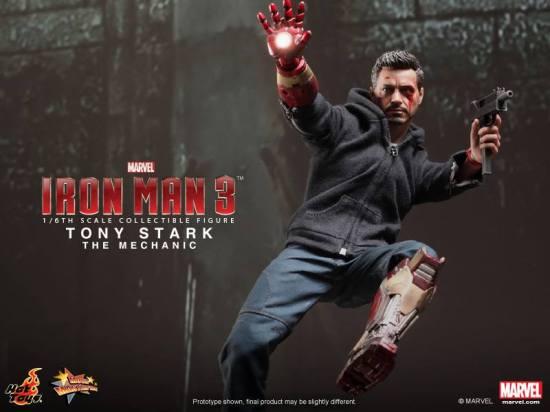 Tony Stark Mechanic Hot Toys