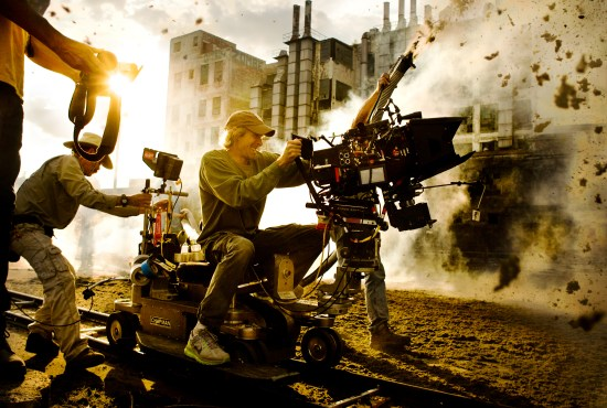 Transformers Age of Extinction set pic