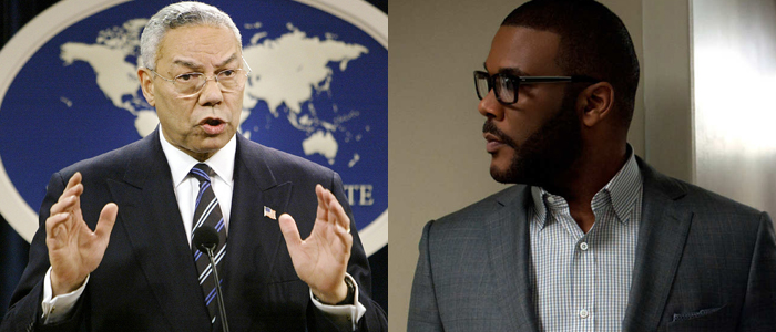 Tyler Perry Colin Powell