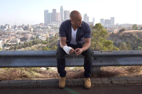 Vin Diesel Fast and Furious 7