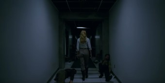 dolores in hallway westworld
