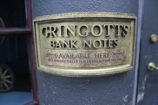 Gringotts Money Exchange