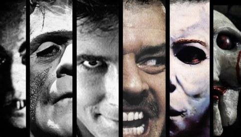 Norman Bates, Frankenstein, Nosferatu, Michael Meyers, Jigsaw