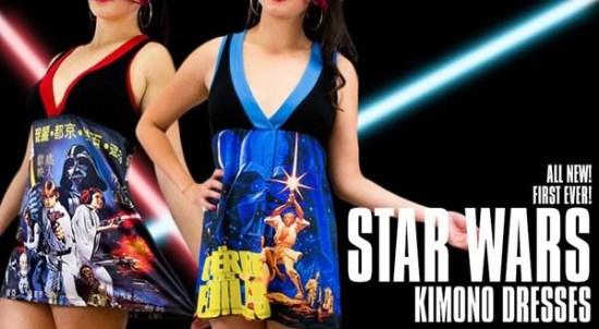 """Star Wars"" Kimono Dresses"