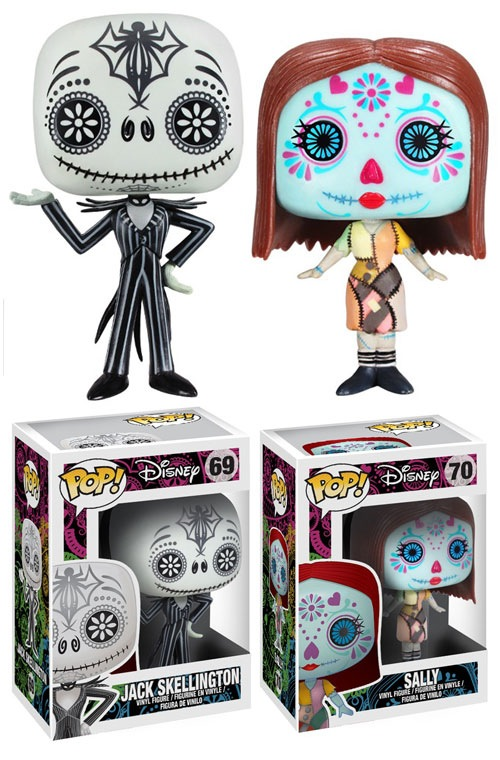 Pop! Disney: Day of the Dead Jack & Sally by Funko