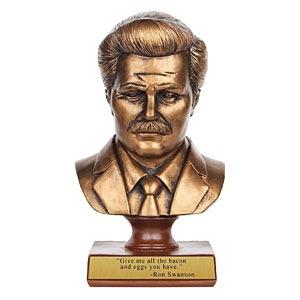 Ron Swanson Bust