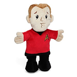 Star Trek Red Shirt Plush Dog Chew Toy