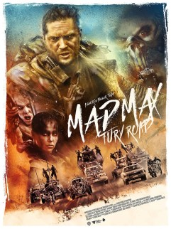 Mad Max Fury Road poster by RICH DAVIES