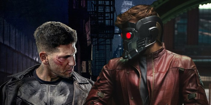 star-lord and the punisher