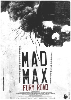 BEN MCLEOD Mad Max Fury Road art posters