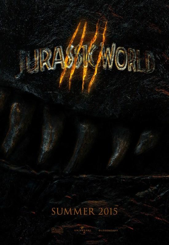 Fan created Jurassic World poster