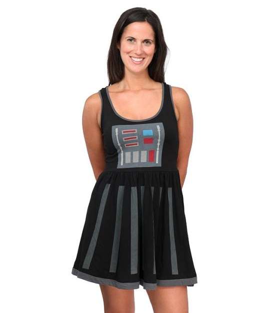 Darth Vader Fit and Flare Dress