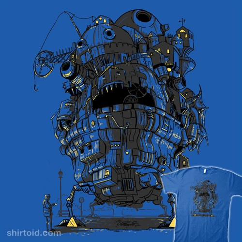Howl's Clamped Castle t-shirt