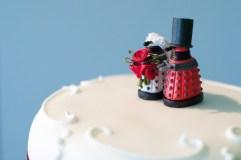 Dalek Cake Toppers