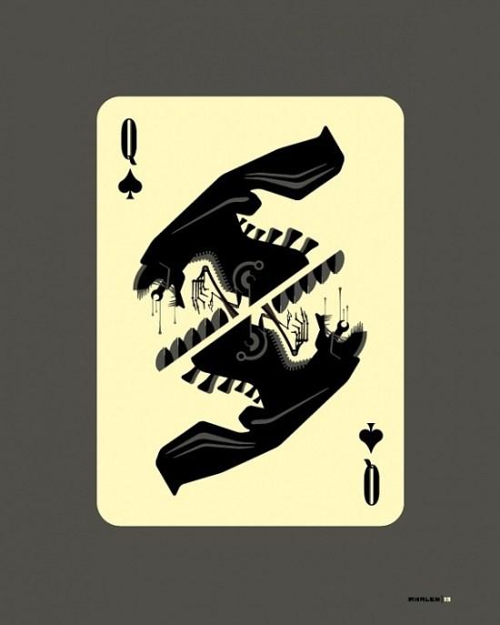 Tom Whalen's Queen of Spades