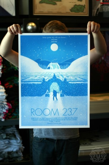 Mondo's Room 237 print by Aled Lewis