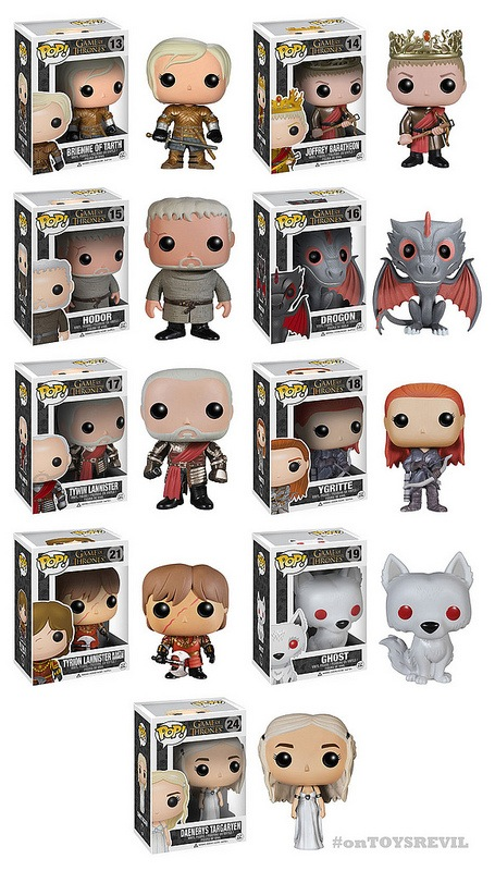 Pop! Game of Thrones: Series 3 from Funko