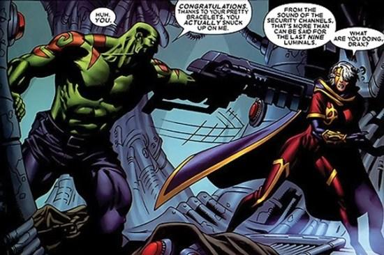 Drax comics