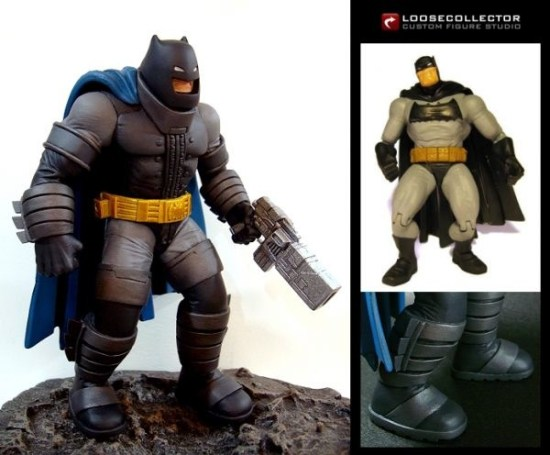 Batman armor from The Dark Knight Returns