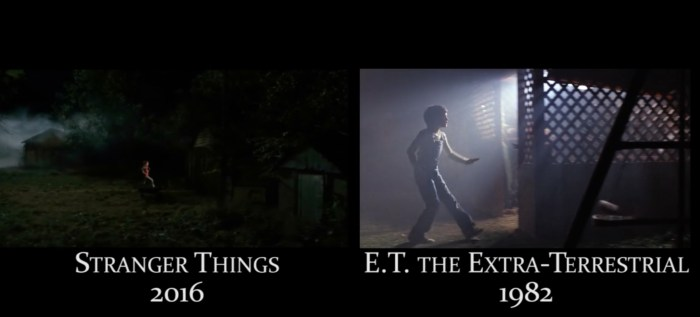 Video: Stranger Things Film References Side By Side Comparison