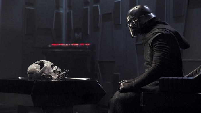 star wars: the force awakens adam driver as kylo ren