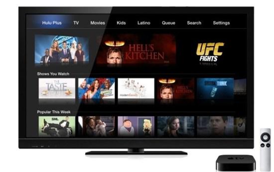 Hulu Plus on Apple TV redesigned