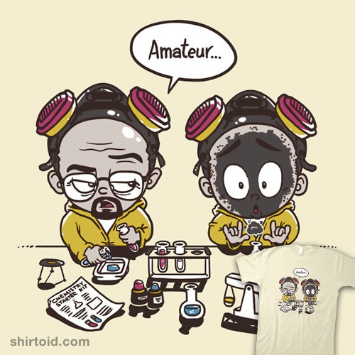My First Science Set t-shirt