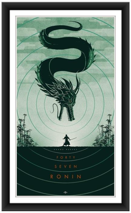 """Matt Ferguson's """"47 Ronin print"""