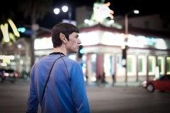 Spock on Hollywood Blvd