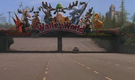 Walley World roller coaster