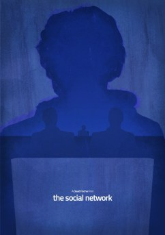 Dean Walton's The Social Network Poster