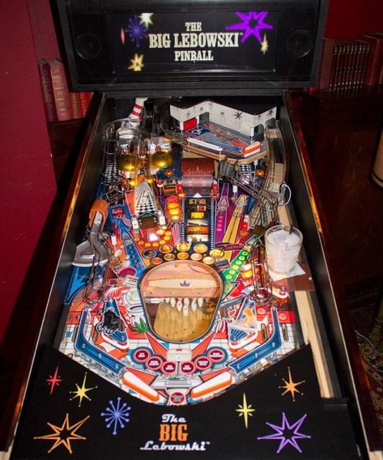 Big Lebowski Pinball Machine Prototype