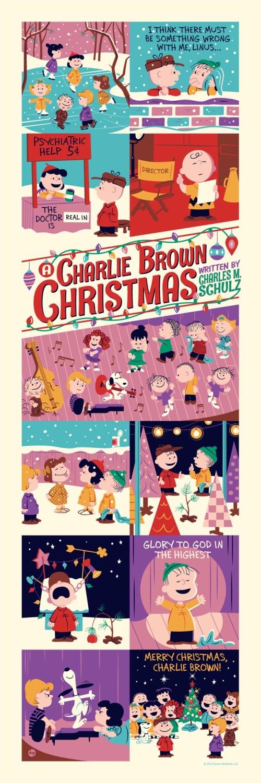 """A Charlie Brown Christmas"" Artist: Dave Perillo"