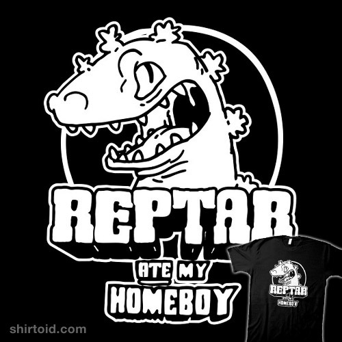 Reptar Ate My Homeboy t-shirt