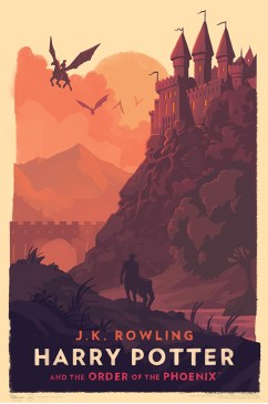 olly moss harry potter poster order of the phoenix
