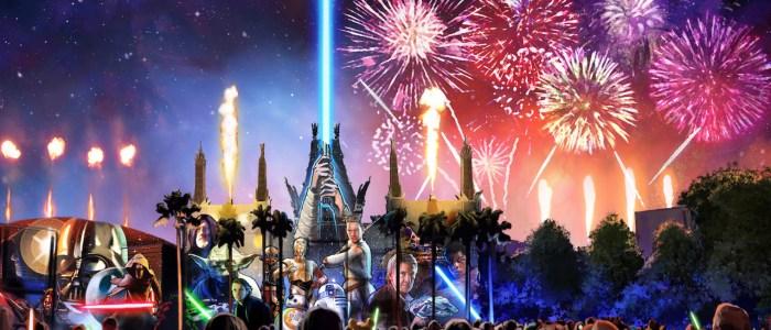 new star wars fireworks show