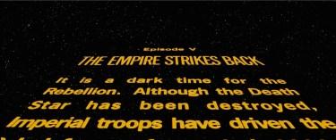 Star Wars: The Empire Strikes Back Crawl