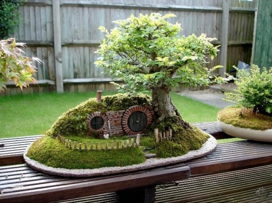 'Lord of the Rings' Bag End Bonsai Landscape