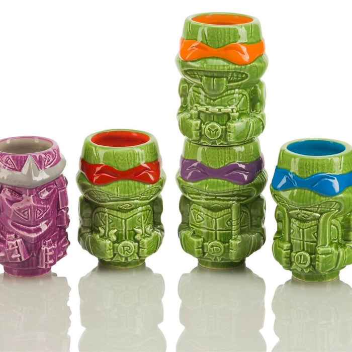 Teenage Mutant Ninja Turtles Geeki Tiki Glasses