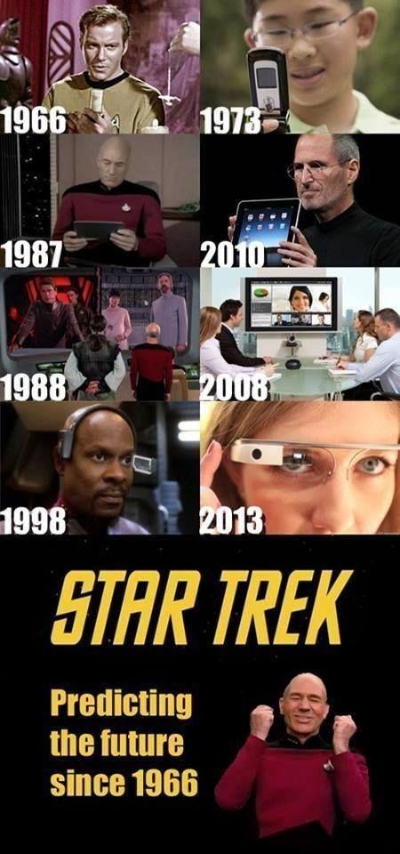 Predicting The Future Star Trek