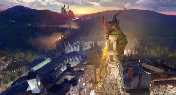 dragon alley hollywood