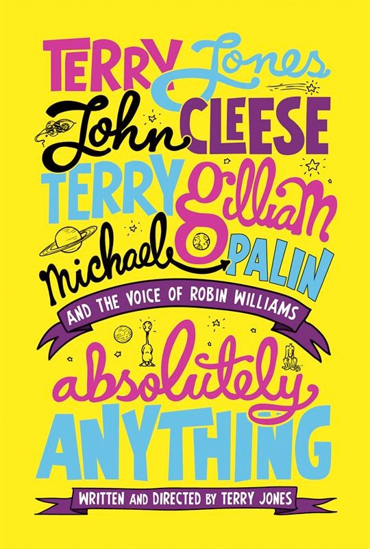 Poster for Monty Python Comedy 'Absolutely Anything'
