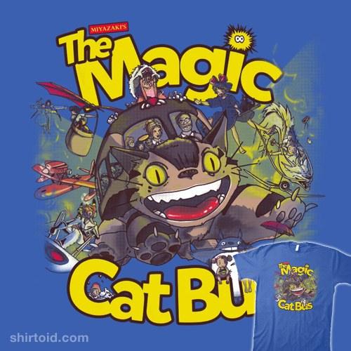 The Magic Cat Bus t-shirt