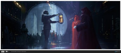 ILM Art Department Challenge Star Wars Concept art