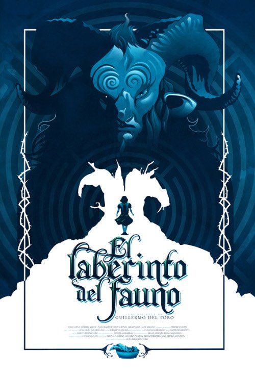 Pan's Labyrinth poster by The Ninjabot