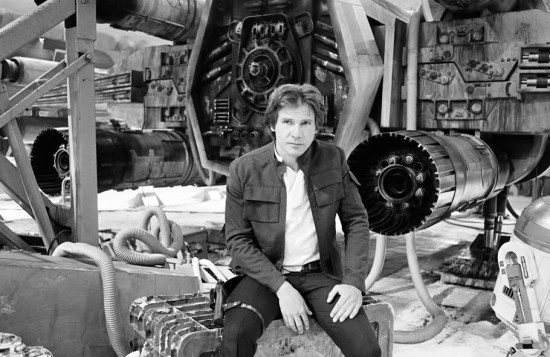 Harrison Ford played Han Solo