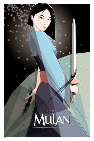 Mulan Poster By Craig Drake