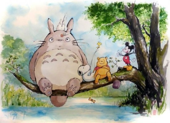 Totoro and Friends