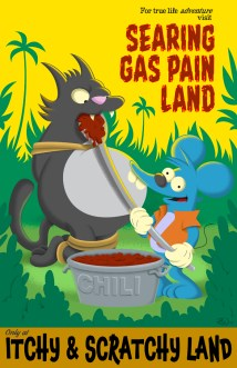 Zack Wallenfang - Itchy and Scratchy Land - The Simpsons